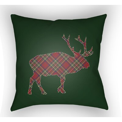 Bighorn Indoor / Outdoor Throw Pillow Size: 18 H x 18 W x 4 D
