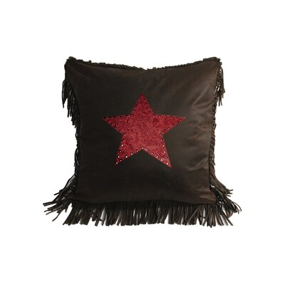 Applewood Star Throw Pillow