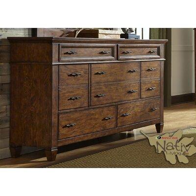 East Pleasant View 10 Drawer Standard Dresser