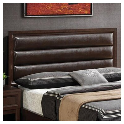 Wetumka Upholstered Panel Headboard Size: King