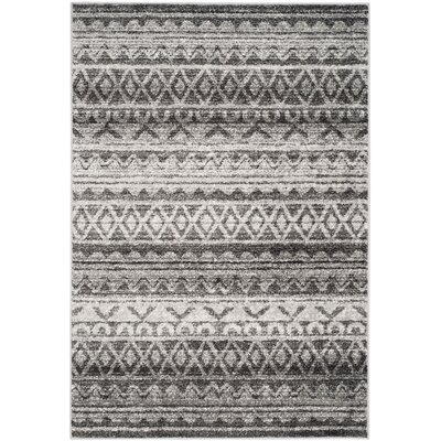 St. Ann Highlands Ivory/Charcoal Area Rug Rug Size: 6 x 9