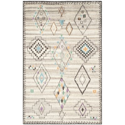 De Beque Hand-Woven Natural Area Rug Rug Size: Rectangle 6 x 9