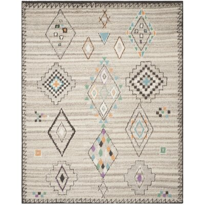 De Beque Hand-Woven Natural Area Rug Rug Size: 8 x 10