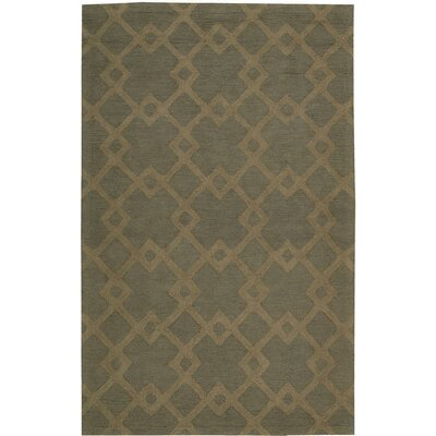 Hateya Hand-Woven Gray Area Rug Rug Size: Rectangle 26 x 4
