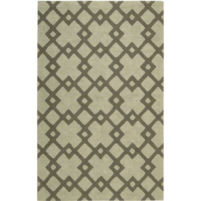 Hateya Hand-Woven Light Gray Area Rug Rug Size: Rectangle 2 x 3