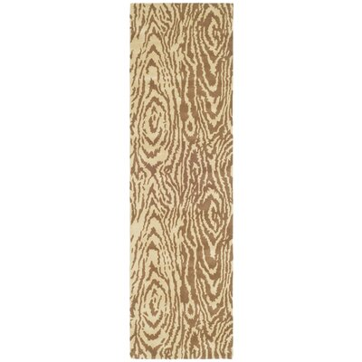Layered Faux Bois Hand-Loomed Sequoia Area Rug Rug Size: Runner 23 x 8