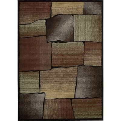 Tall Timber Rust/Beige Area Rug Rug Size: 79 x 1010