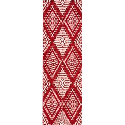 Kingfisher Poppy Area Rug Rug Size: Runner 26 x 8