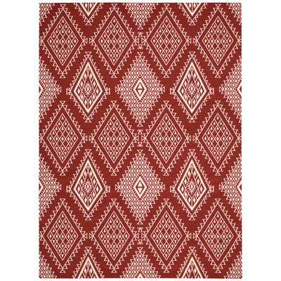 Kingfisher Poppy Area Rug Rug Size: 26 x 4