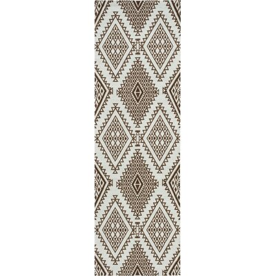Kingfisher Brown Area Rug Rug Size: Runner 26 x 8