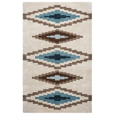 Upper St. Vrain Hand-Tufted Area Rug Rug Size: 5 x 8