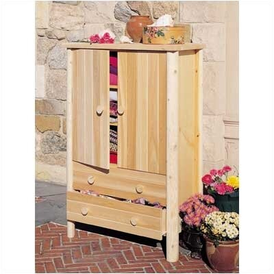 Lonato Armoire Finish: Natural
