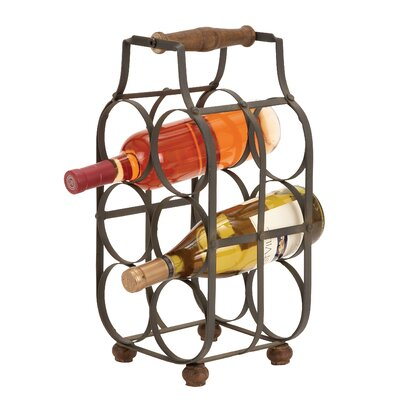 Kremmling 6 Bottle Tabletop Wine Rack