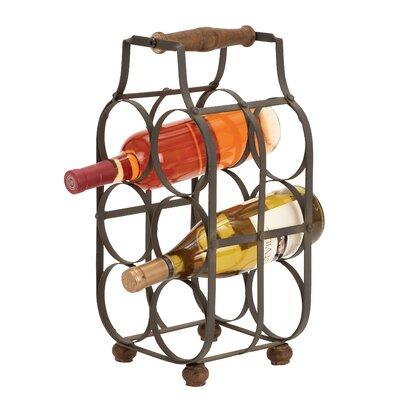 Kremmling 6 Bottle Tabletop Wine Rack