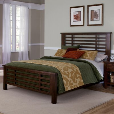 Rockvale Panel Bed Size: King