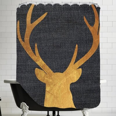 Pilchuck Deer 4 Shower Curtain