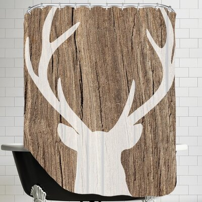 Pilchuck Deer 5 Shower Curtain