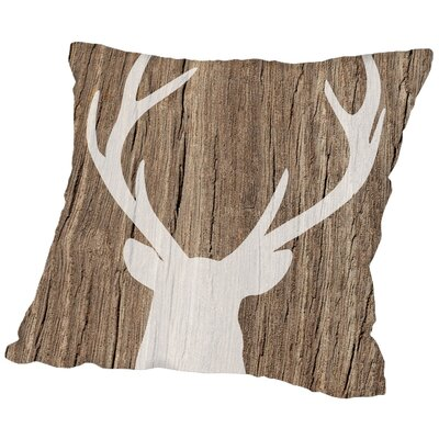 Ikonolexi Deer 5 Throw Pillow Size: 20 H x 20 W x 2 D