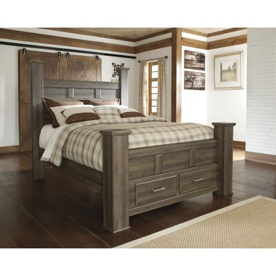 Iron Mountain Panel Bed