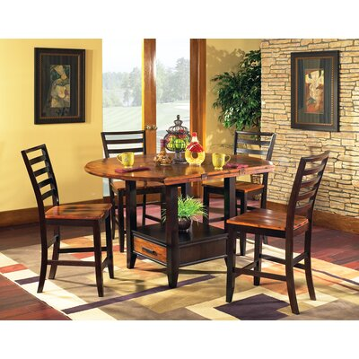 Matterhorn 5 Piece Counter Height Dining Set