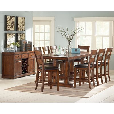 Matterhorn 9 Piece Counter Height Dining Set
