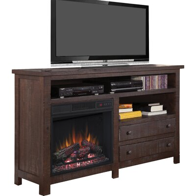 Hidalgo 60 TV Stand with Fireplace