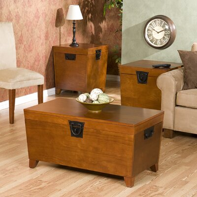 Harrower 3 Piece Trunk Coffee Table Set