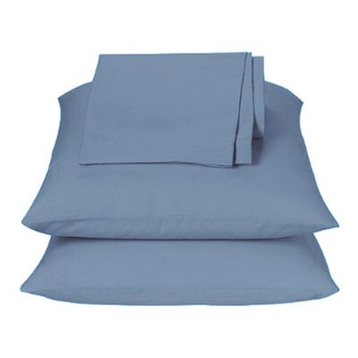 Kamakou Waterbed Sheet Set Color: Light Blue, Size: King