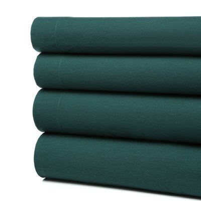 Kamakou Waterbed Sheet Set Size: Super Twin, Color: Hunter Green