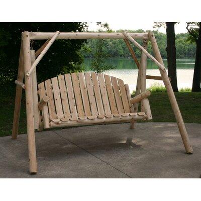 Cinnabar Garden Porch Swing with Stand