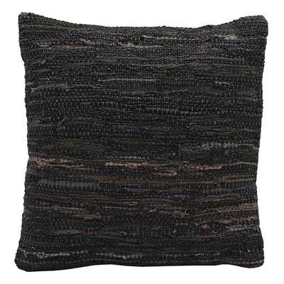 Walters Woven Throw Pillow Color: Brown