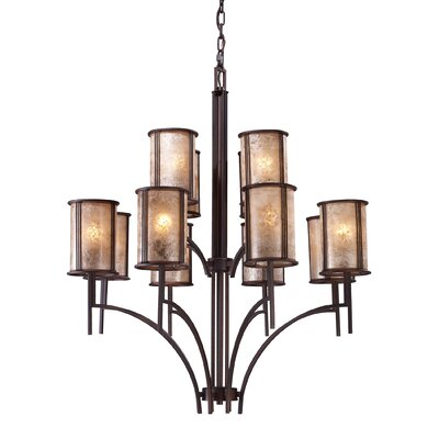 Seeley 12-Light Shaded Chandelier