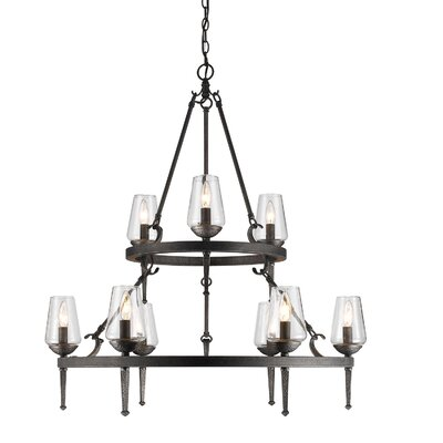 Rock Springs 9-Light Candle-Style Chandelier