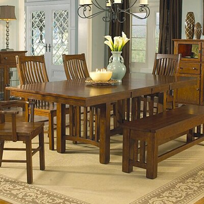Crowin 6 Piece Extendable Dining Set