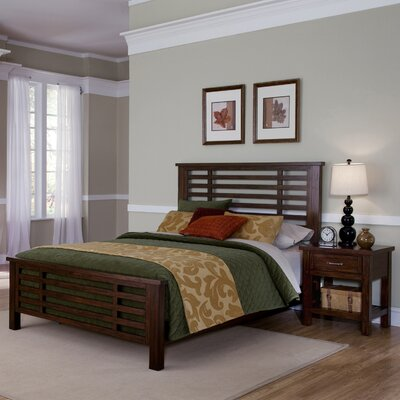 Rockvale Panel 2 Piece Bedroom Set Size: King