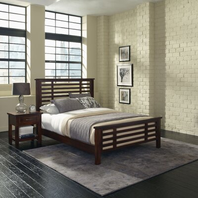 Rockvale Panel 2 Piece Bedroom Set Size: King