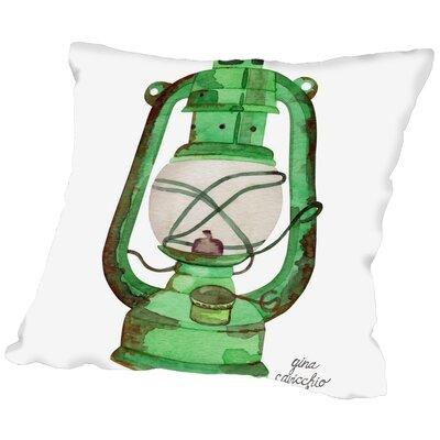 Gina Maher Poplar Oil Lamp Throw Pillow Size: 20 H x 20 W x 2 D