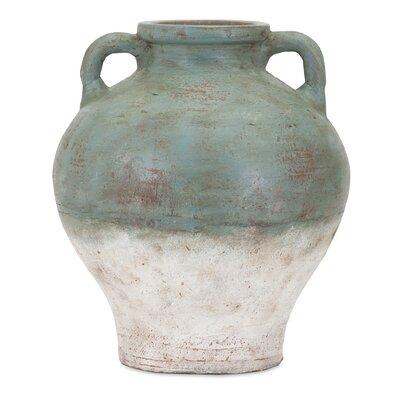 Loon Peak Terra Cotta Vase