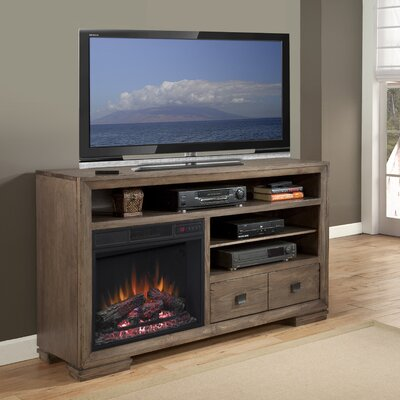 Escudilla 60 TV Stand with Fireplace