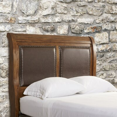 Gilcrest Upholstered Sleigh Headboard Size: Queen