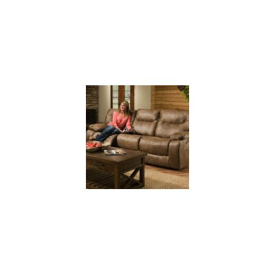 Loon Peak LOON3744 28204849 Grizzly Hill Double Motion Reclining Sofa