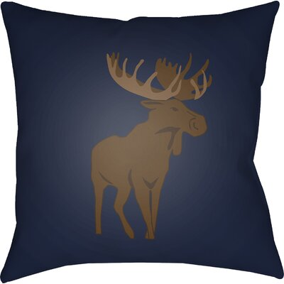 Dove Valley Indoor/Outdoor Throw Pillow Size: 20 H x 20 W x 4 D, Color: Blue