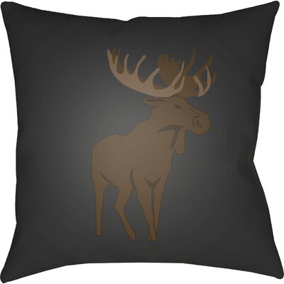 Dove Valley Indoor/Outdoor Throw Pillow Size: 18 H x 18 W x 4 D, Color: Gray