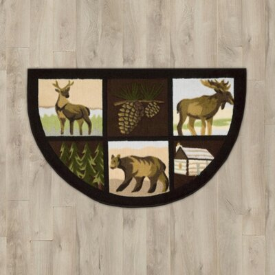 Steens Brown Lodge Area Rug