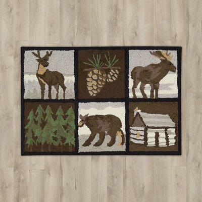 Buckskin Brown Area Rug