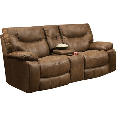 LOON3743 28204848 LOON3743 Loon Peak Grizzly Hill Double Motion Console Reclining Loveseat