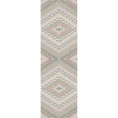 Torreys Hand-Woven Light Gray Area Rug Rug Size: Runner 26 x 8