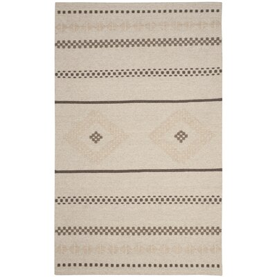 Febbas Hand-Woven Area Rug Rug Size: Rectangle 5 x 8