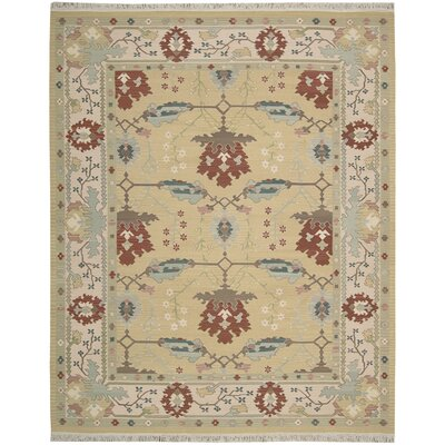Matahpi Hand-Woven Beige Area Rug Rug Size: Rectangle 99 x 139