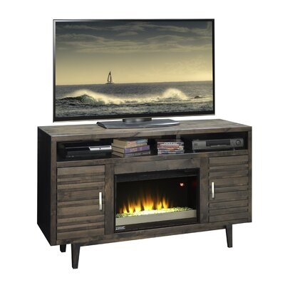 Calavar 61 TV Stand with Fireplace